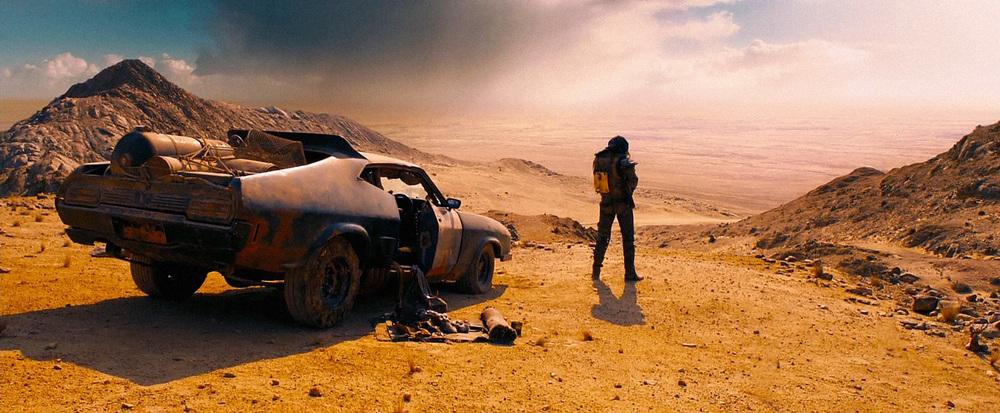 Mad Max macchina e Tom Hardy