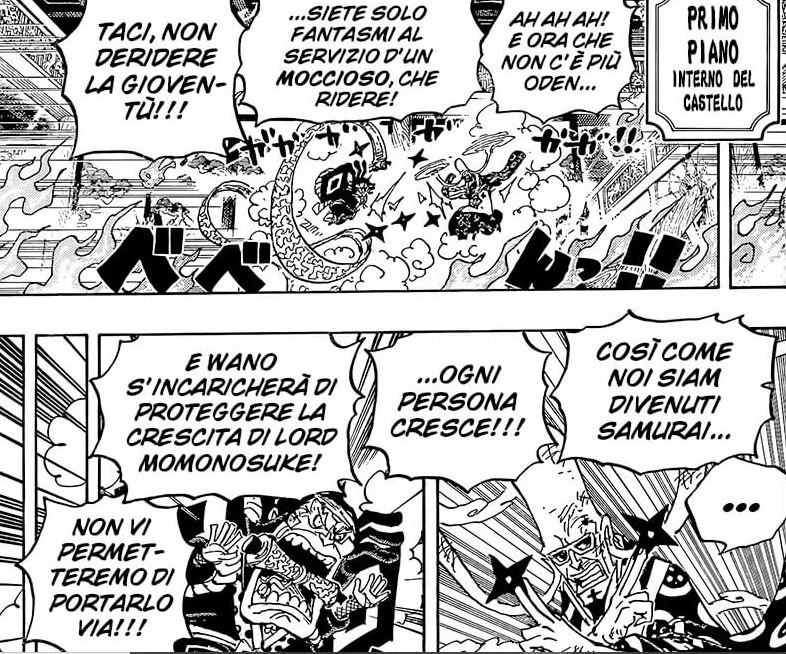 One Piece 1027, previsioni:  Raizo vs Fukurokuju