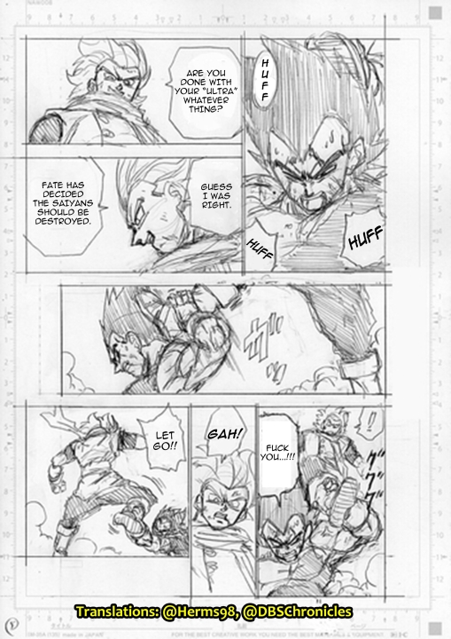 Dragon Ball Super 76 bozze