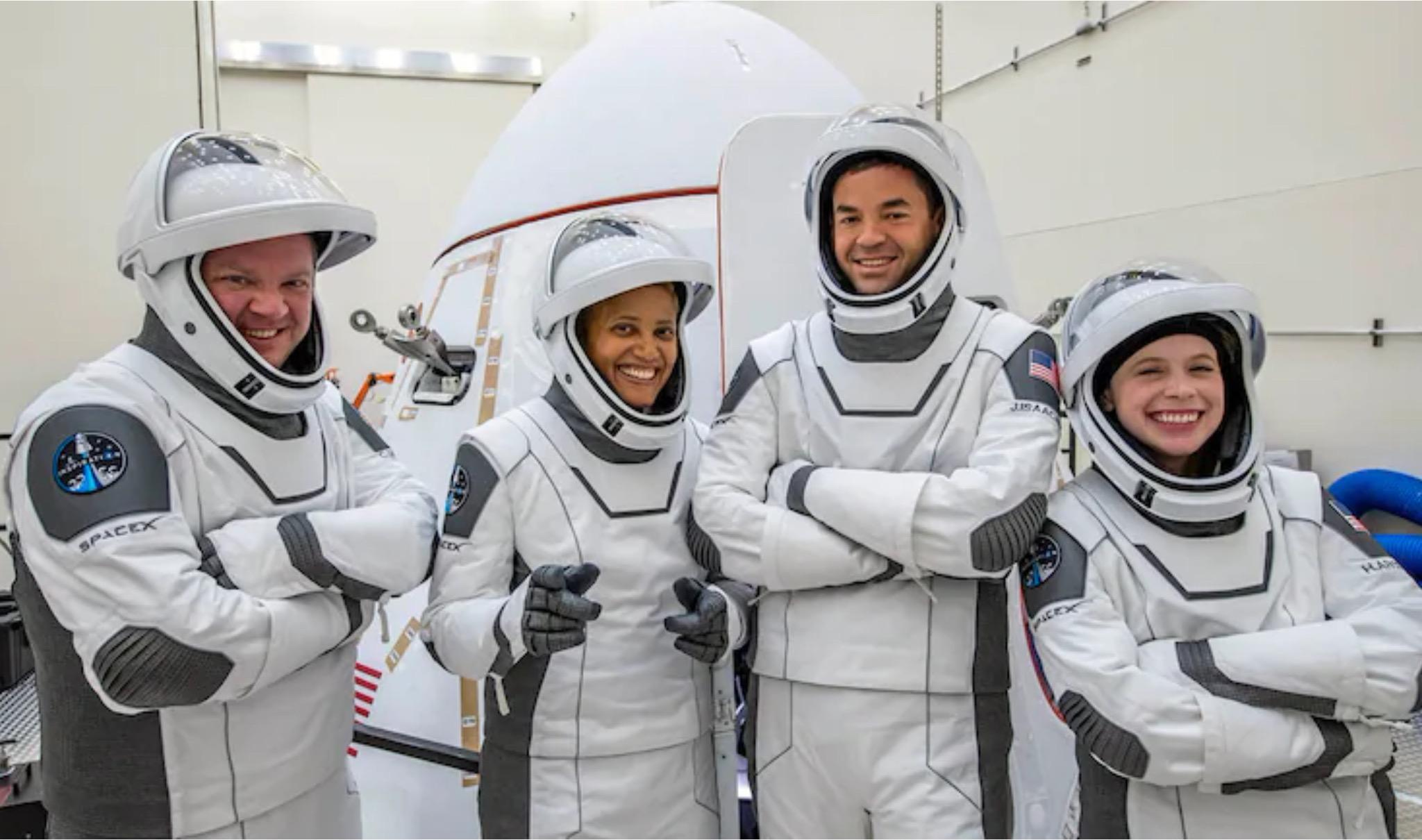 SpaceX Inspiration 4 primi 4 civili