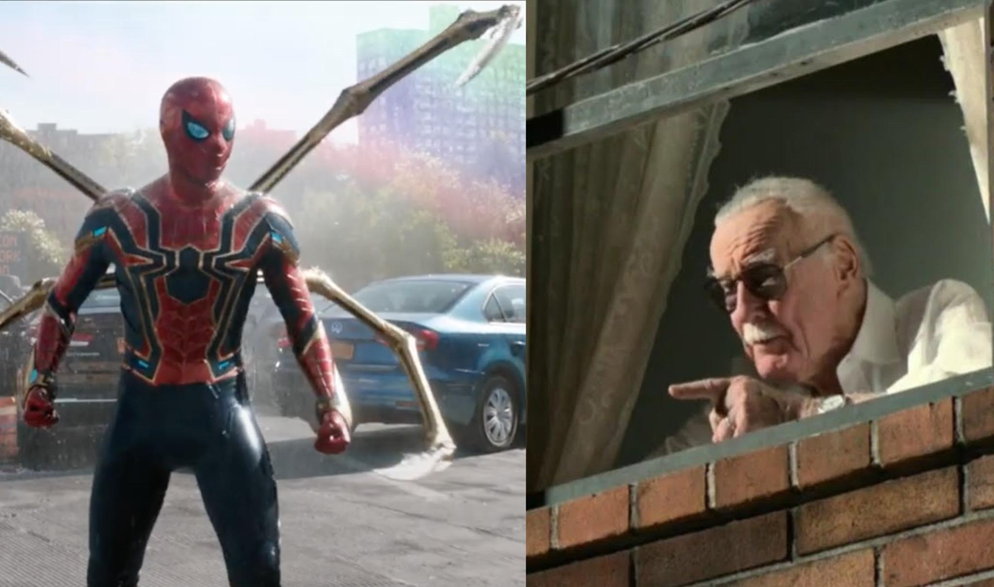 Spiderman e Stan Lee