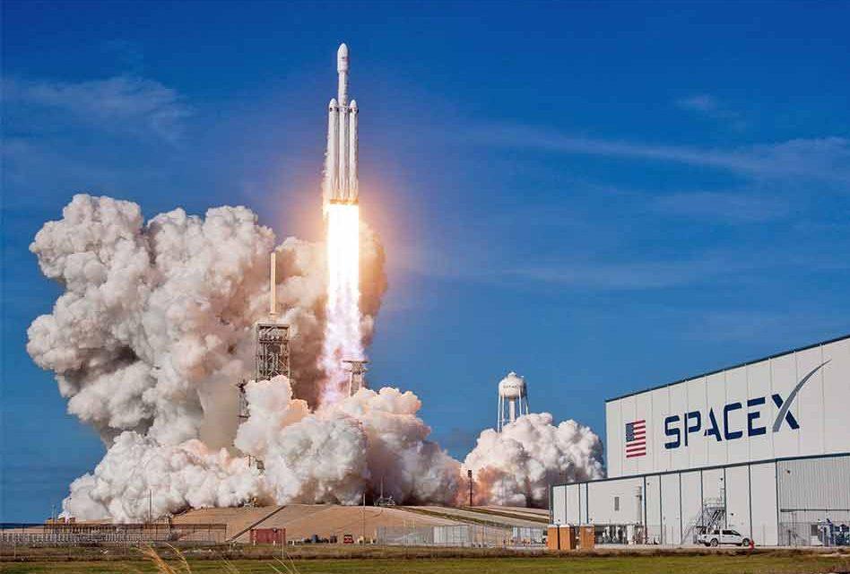 Space X lancio Falcon