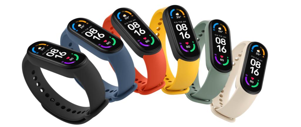 Xiaomi Mi Smart Band 6 Colori