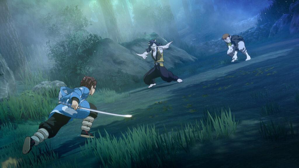 Demon Slayer The Hinokami Chronicles combat