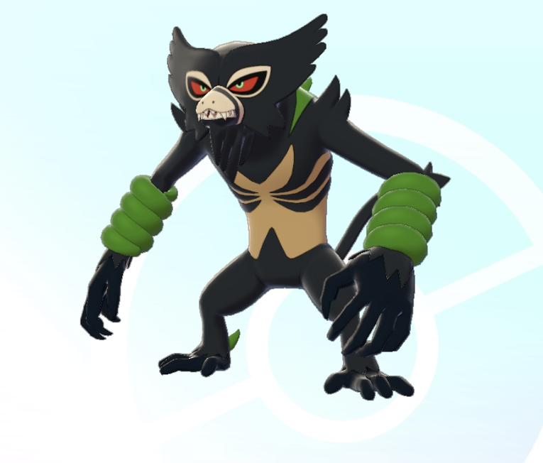 Zarude,. Koko