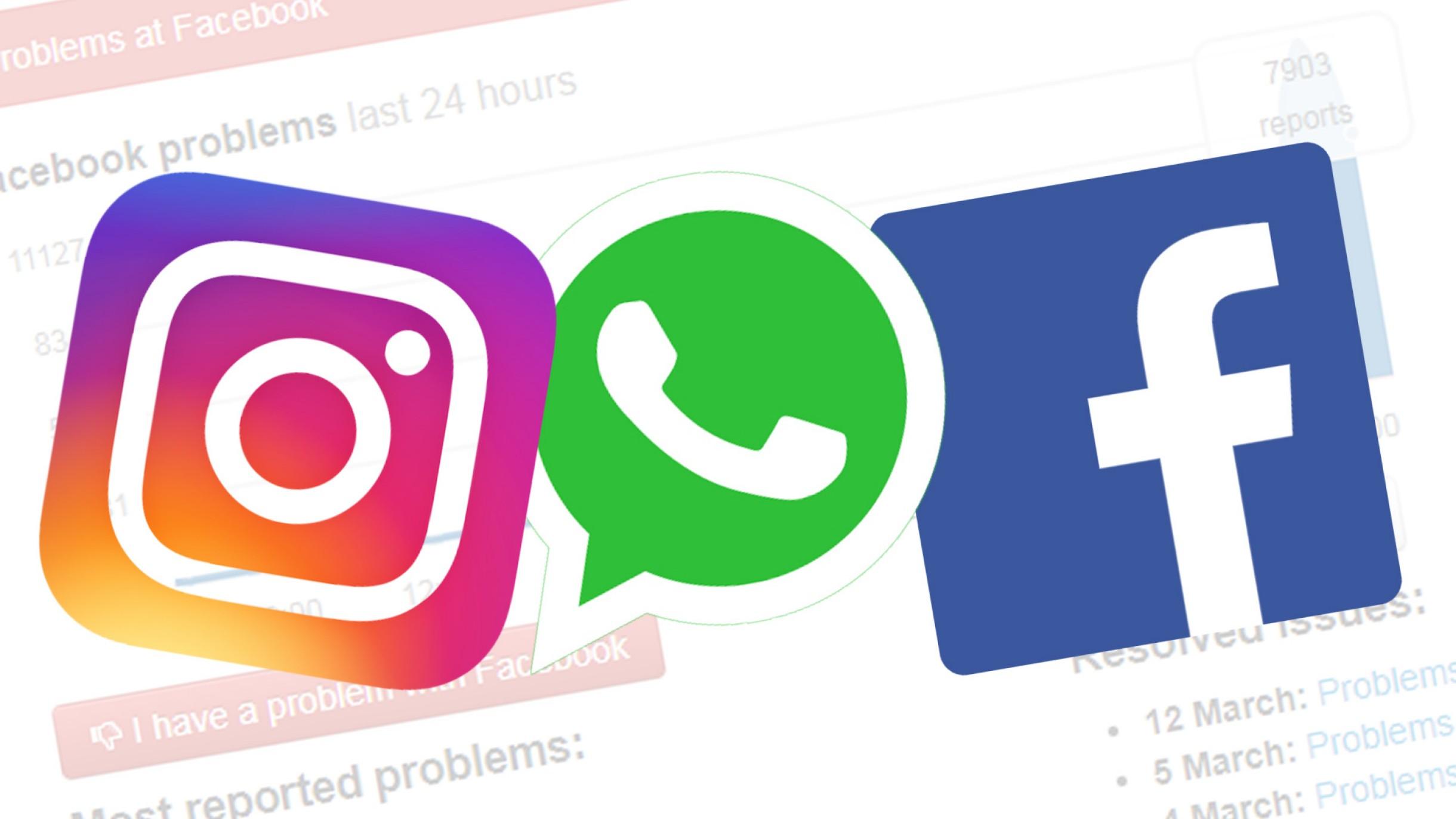 Whatsapp Facebook Instagram Down Non funzionano 4 Ottobre 2021
