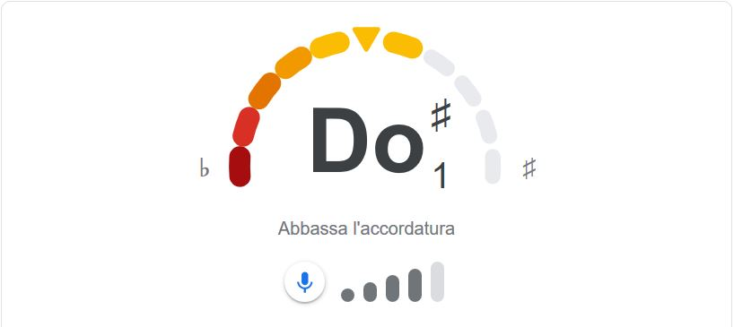 Google Tuner in funzione