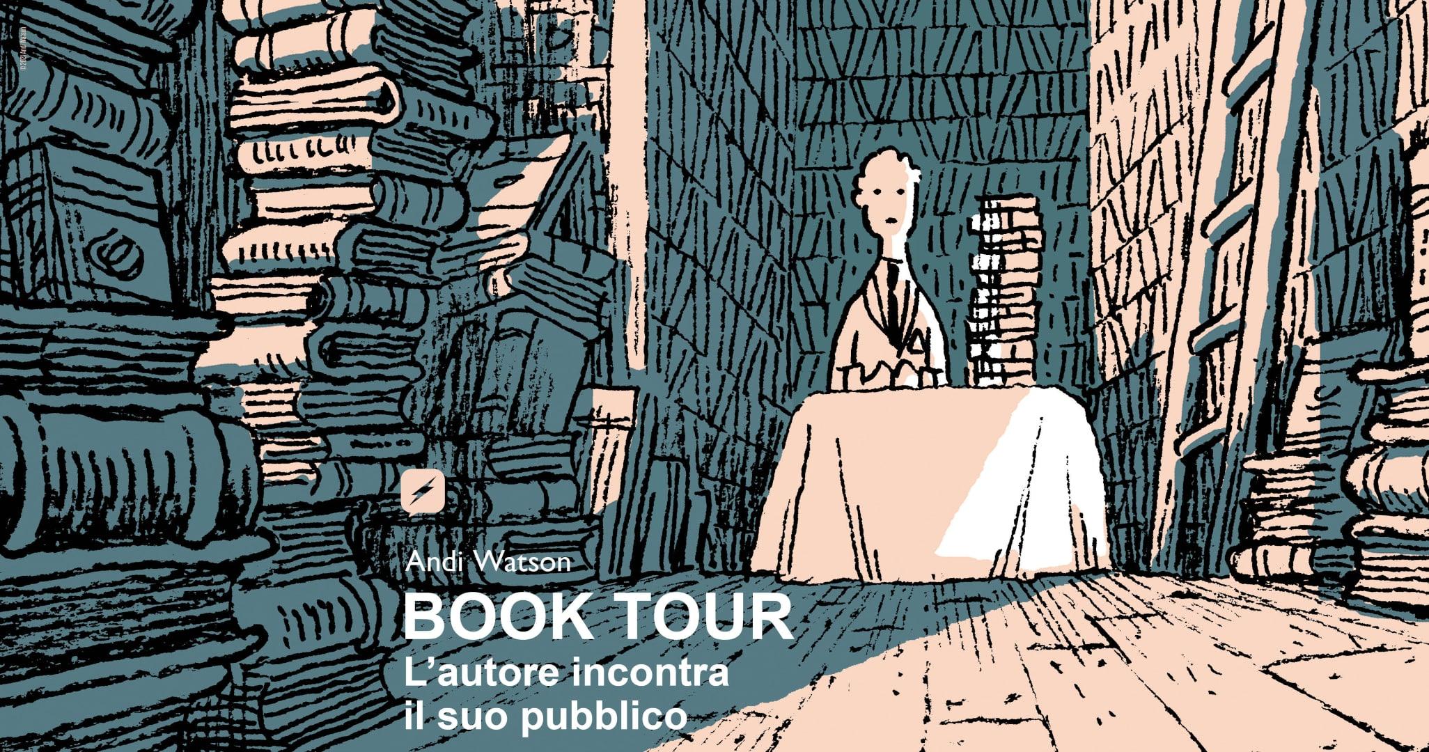 Book Tour Andi Watson