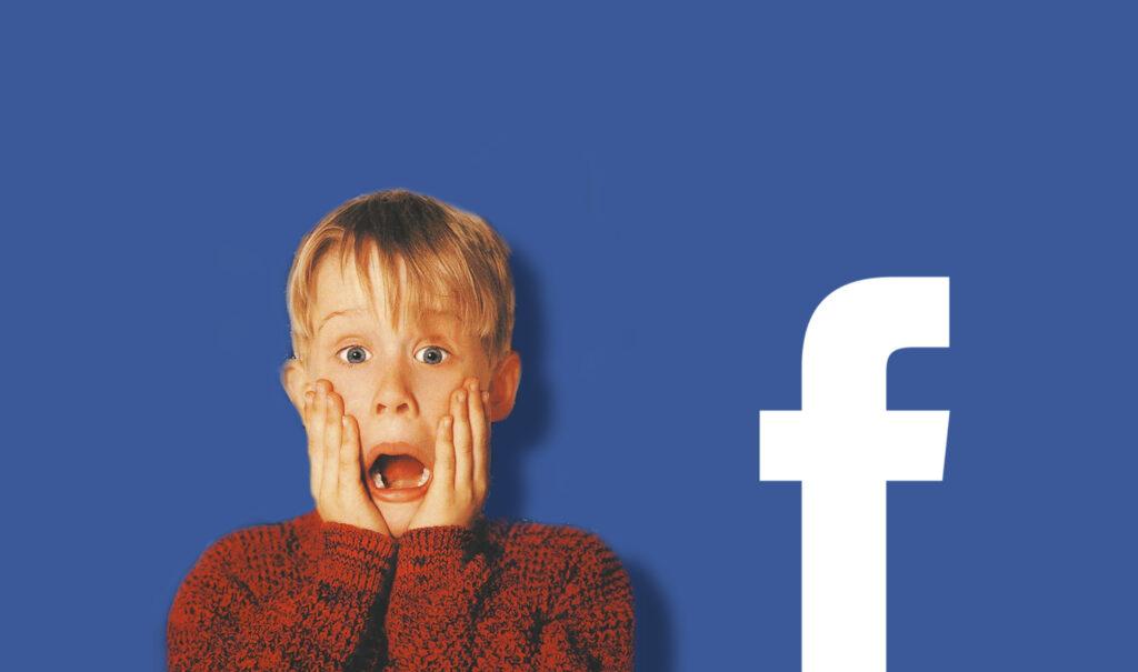 Facebook logo e Mamma ho perso l'aereo
