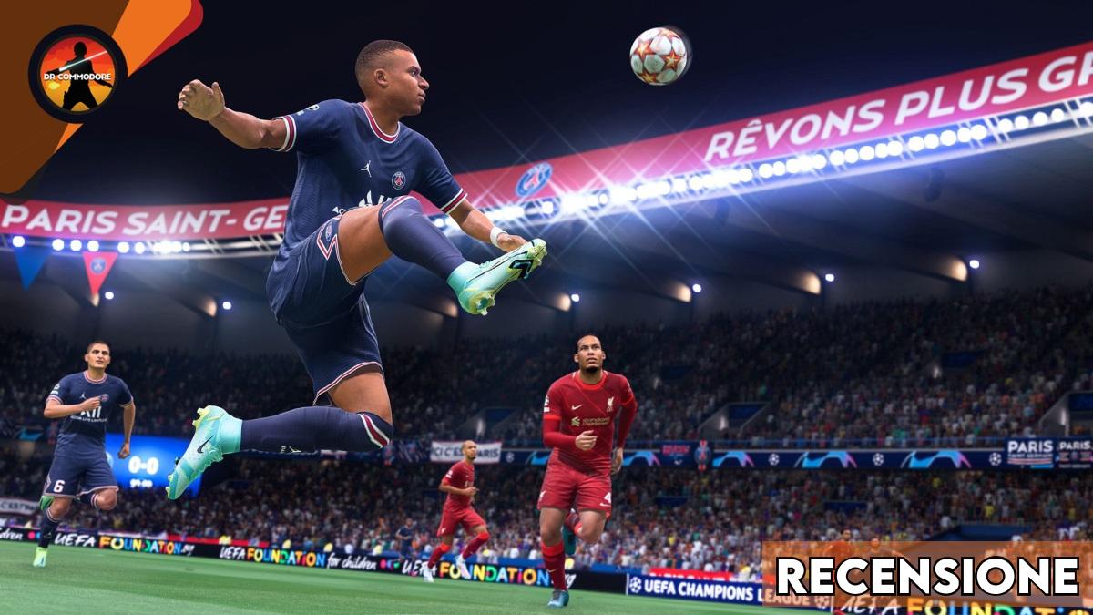 FIFA 22, cover