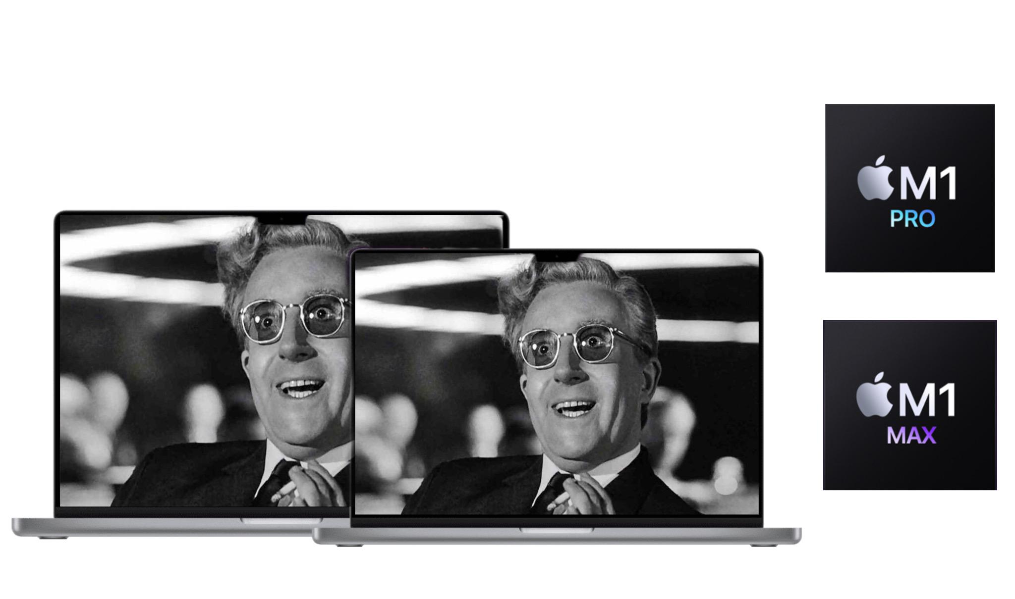 MacBook Pro e M1 Pro e M1 Max