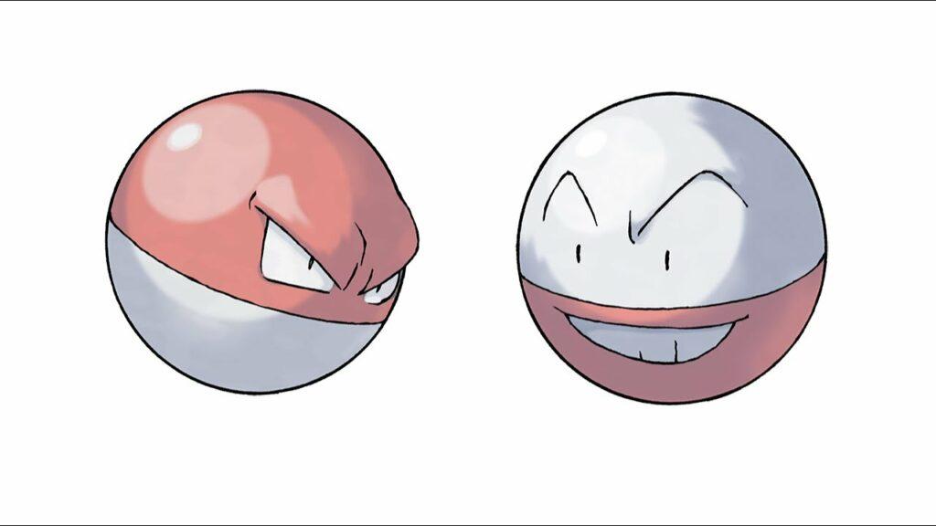 Voltorb e Electrode: una linea evolutiva che esplode. (Leggende Pokemon Arceus)