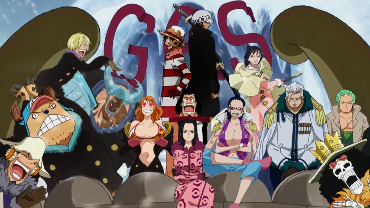 One Piece Punk Hazard