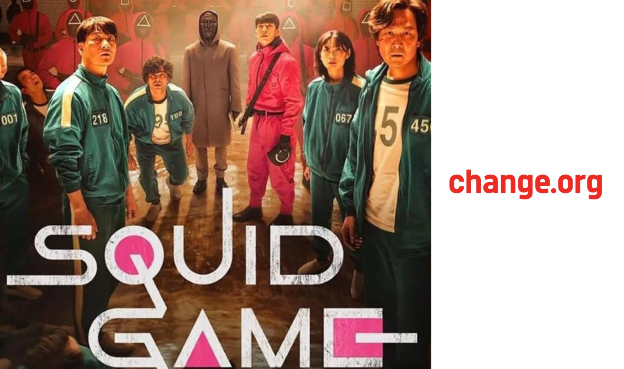 Petizione Squid Game Chane.org