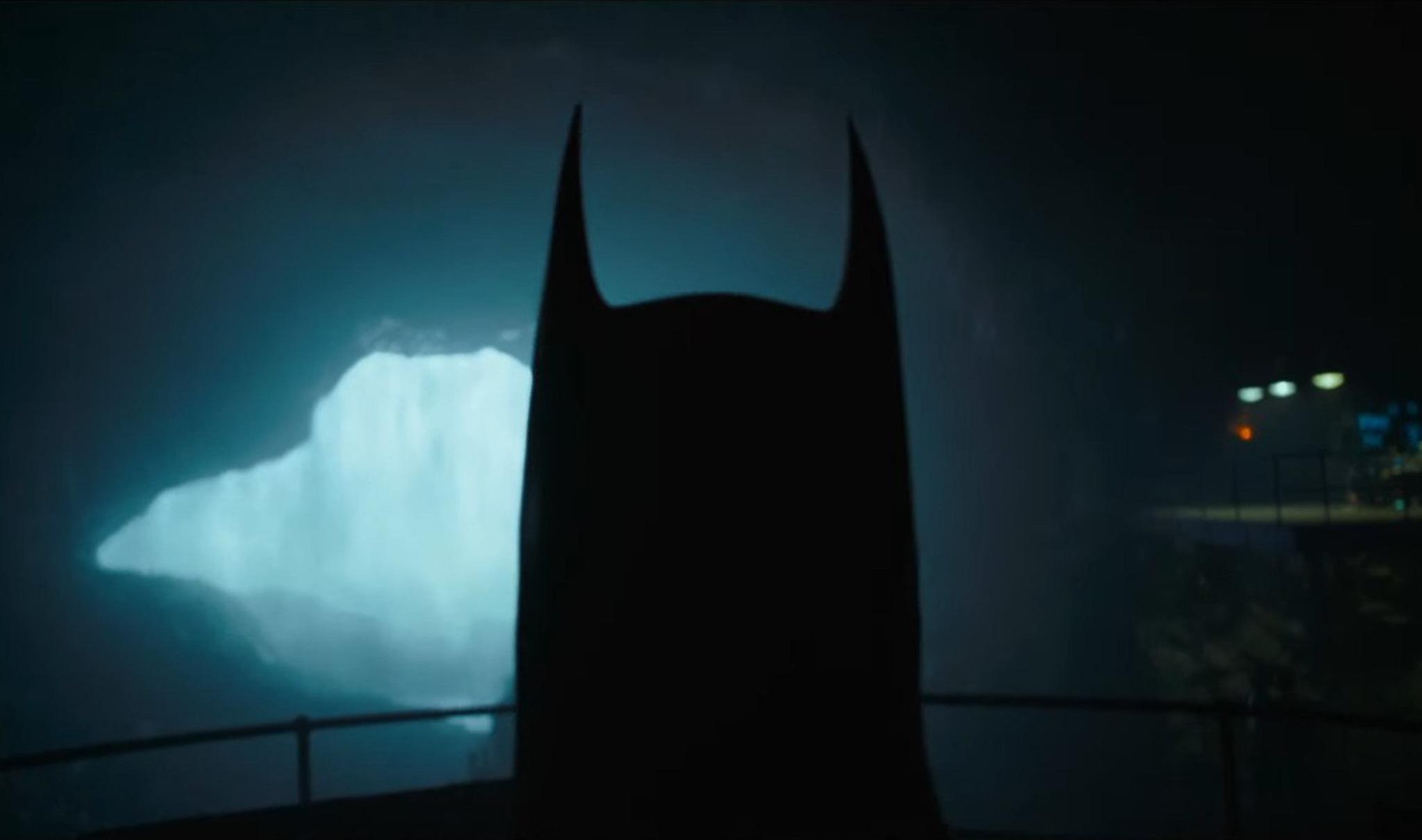 Batman di Keaton in The Flash